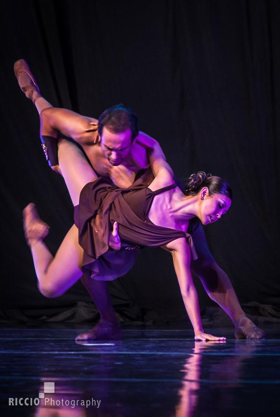"Boca Ballet Theatre dancers. Performance of ""Spartacus"""